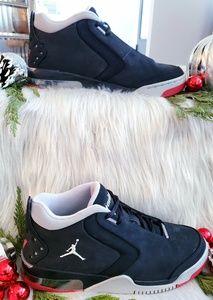 finest selection b9c2c df0c6 Nike Shoes - Nike   Air Jordan Big Fund Black  Metallic Silver